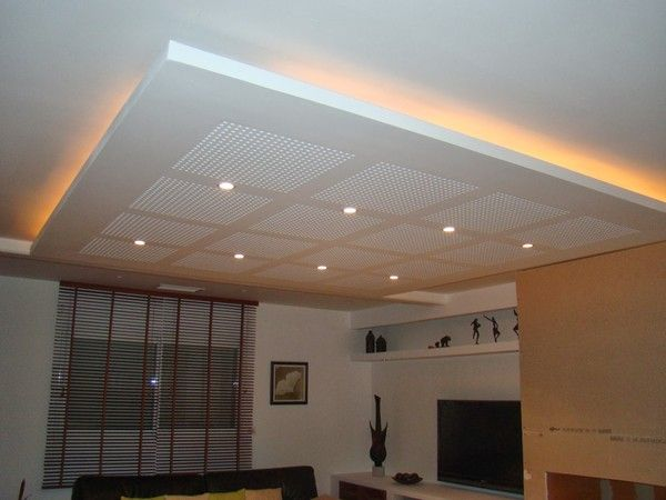 Faux plafond for Plafond suspente